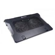 Connectland SUP-NB-CNL-S530 - Raffreddatore per computer portatile, colore: Nero