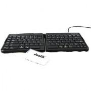 Goldtouch Go!2 Mobile Keyboard - PC & Mac GTP-0044 Plus Jestik Microfiber Cloth - Value Bundle