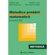 Metodica predarii matematicii la clasele I-IV 2012.