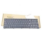 Eathtek Replacement Keyboard without Backlit and Frame for Asus K50 K51 K50AB K50AD K50AF K50C K50IN K50IJ K50I K60 K62 K70 K70IJ K72 series Black US Layout