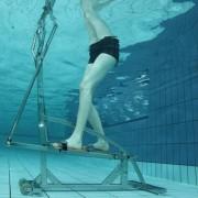 VB ITALIA Idrobike ellittica professionale per praticare acquagym