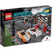 LEGO® Speed Champions Porsche 911 GT la linia de finiş 75912