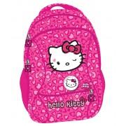 Ghiozdan, clasele 1-4, roz, HELLO KITTY