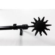Barna leveles bútorszövet maradék 22x73cm 2db egyben./017/Cikksz:1231042