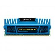 CORSAIR-Vengeance Series 8 Go DDR3 1600 MHz CL10 Bleu - RAM DDR3 PC12800 - CMZ8GX3M1A1600C10B (garantie 10 ans par Corsa-