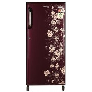 Kelvinator 190 L 3 Star Direct-Cool Single Door Refrigerator (KS203PT HR/KW203PT HR, Gulmohar Red)
