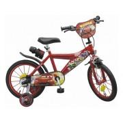 """Bicicleta 16"""" Cars de la Toimsa"""