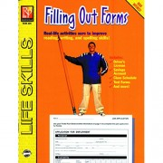 Remedia Publications REM435 Practical Practice Reading Book Series: Filling Out Forms, 0. 5 Height, 8. 5 Wide, 11 Length