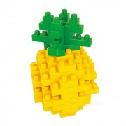 WLTOYS 6601 juguete educativo de la pina Building Blocks para Kid - Amarillo
