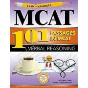 Examkrackers 101 Passages in MCAT Verbal Reasoning by David Orsay