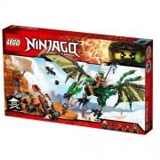 LEGO Ninjago 70593 - Set Costruzioni, Dragone Nrg Verde