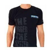 Camiseta The Bigger The Better - Preta Tamanho P - Probiótica