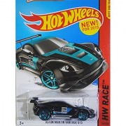 Hot Wheels 2015 HW Race Aston Martin Vantage GT3 [Black] Die-Cast Vehicle #149/250