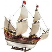 Revell 05486 - Pilgrim Ship Mayflower Kit di Modello in Plastica, Scala 1:83