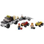 Lego® City Great Vehicles Echipa De Curse Pe Atv - L60148