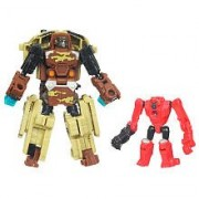Transformers Power Core Combiners Steelshot Mini-Con with Beacon Drone (Hasbr...
