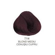 Vopsea Permanenta Evolution of the Color Alfaparf Milano - Blond Mediu Cenusiu Cupru Nr 7.14