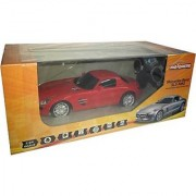 Majorette Rc car Mercedez Benz SLS 124 Red (White)