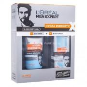 L´Oreal Paris Men Expert Hydra Energetic Duo Kit 150ml за Мъже - почистваща пяна Skin & Stubble Purifying Face Wash 150 ml + хидратираща грижа Skin & Stubble Moisturising Gel 50 ml За свежа кожа