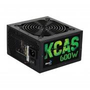 Fuente De Poder AeroCool KCAS-600W 80+ Bronce-Negro