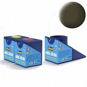 Revell Acrylics (Aqua) - 18ml - Aqua Black-Green Matt - RV36140