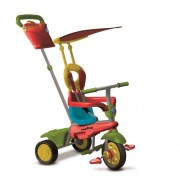 Smart Trike Touch Joy TRICICLO Rosso/Verde/Giallo (Inviato da UK)