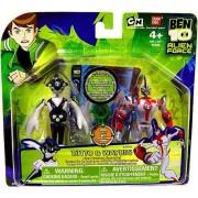 Ben 10 - 27661 - alien Force - alien Creation Chamber Mini de figuras - 2 Pack - Ditto & waybig