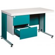 Orvosi íróasztal, fém 212s