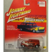 Johnny Lightning Thunder Wagons 1933 Ford Delivery Red