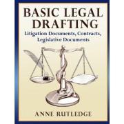 Basic Legal Drafting by Anne Rutledge