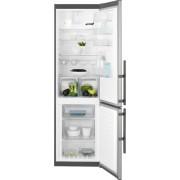 Combina frigorifica Electrolux EN3853MOX, A++, 265+92 Litri, Comenzi Mecanice, Sistem de Racire No Frost, Inox Antiamprenta