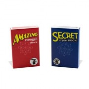 Magic Makers Amazing Svengali and Secret Stripper Deck Kit Hundreds of Possible Tricks From Beginner to Expert in This