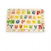 Hape - E1501 - Puzzle En Bois - Alphabet