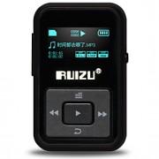 RUIZU MP3 MP3 WMA WAV FLAC APE Bateria Li-on Recarregável