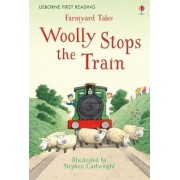 Farmyard Tales Woolly Stops the Train by Heather Amery