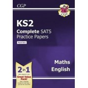 KS2 Maths and English SATS Practice Papers (Updated for the 2017 Tests) - Pack 1 by CGP Books