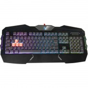 Tastatura A4Tech Bloody B254, cu fir, neagra, USB