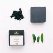 Sapun natural cu Carbune si Tea Tree Trio Verde 110gr