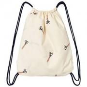 Tinycottons Scissors Towel-Bag Off White/Dark Navy
