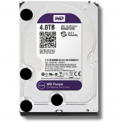 Disco Duro Interno Western Digital 4TB WD40PURX Purple Para DVR