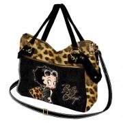Geanta Venice 40x29x11cm,BB Leopard