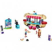 LEGO® Friends Furgoneta de hot dog din parcul de distracții 41129