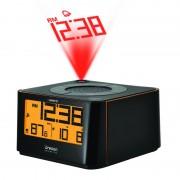 Oregon Scientific Funk Wetterstation Projektionswecker mit Sound EW 103