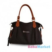Petite & Mars pelenkázó táska Tessa Black Melange
