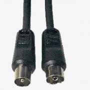 Cable RF 7mm (Alta calidad) Macho-Hembra 1.5m.
