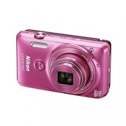 Nikon Coolpix S6900 Compact Camera (Pink) with 16 MP, 12x Optical Zoom, 8GB SDHC ,HDMI Cable & Case