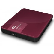 Hard disk extern WD My Passport Ultra 2TB Berry USB 3.0 Hardware Encryption
