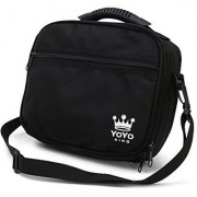 Yoyo King Black Yoyo Bag Heavy Duty Soft Case for Storage of 8 Yoyos and Accessories