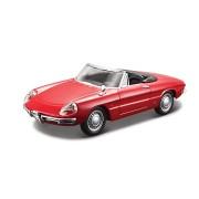 Alfa Romeo Spider - rosu - 1:32 - Colectia Street Clasic