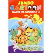 Jumbo cartoon - Carte de colorat nr. 3